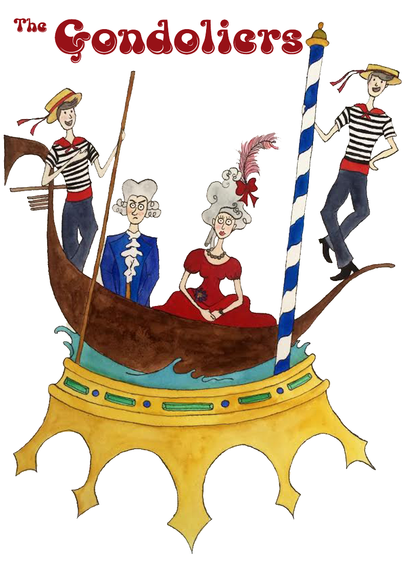 The Gondoliers graphic